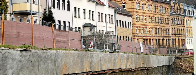 OTZ: Millionen-Investition: Stützmauer am Greizer Salzweg wird ab April gebaut