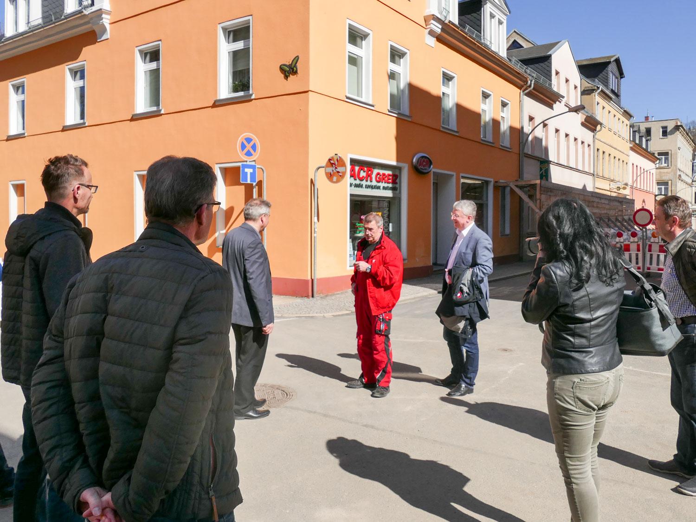 Schatten – aber auch Licht in der Greizer Neustadt